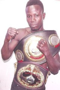 Maxwell Awuku fired up for world title