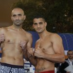 Photos: Abraham vs. De Carolis Weigh In
