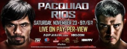 Brandon Rios's Fire Is Burning Hot