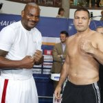 Schwerin Weigh In: Tony Thompson  263.9 lbs   Kubrat Pulev 252.9 lbs