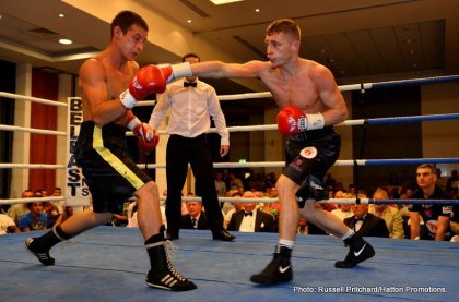 Zhakiyanov, Burnett Shine In Belfast