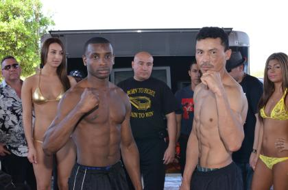 Rashad Ganaway vs. Justo Vallecillo tonight in San Antonio, TX