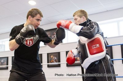 Sergey Rabchenko at Home With Ricky Hatton