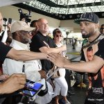 Photos: Floyd Mayweather & Canelo Alvarez Arrive At MGM Grand For Saturdays Blockbuster Showdown