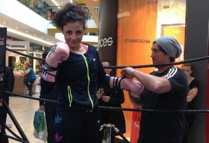 Susi Kentikian vs. Carina Moreno tonight in Germany
