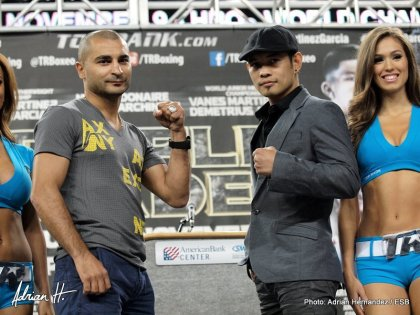 Martinez vs. Garcia / Martirosyan vs. Andrade / Donaire vs. Darchinyan: Saturday, Nov. 9 Live on HBO