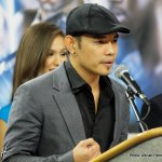 Nonito Donaire Interview; Top Rank Press Conference Photos