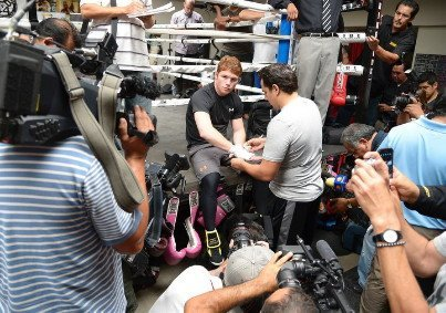 alvarez43 Saul Alvarez: I want Mayweather, Pacquiao and Cotto after I get past Josesito Lopez