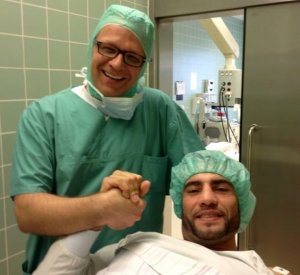 Meniscal tear! Manuel Charr has to undergo surgery, will be out for a couple of weeks