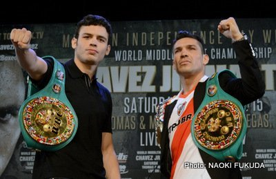chavez01 JC Chavez Jr. set the trap…has Maravilla already taken the bait?