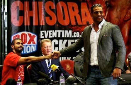 Manuel Charr calls out David Haye, fights for peace in Syria