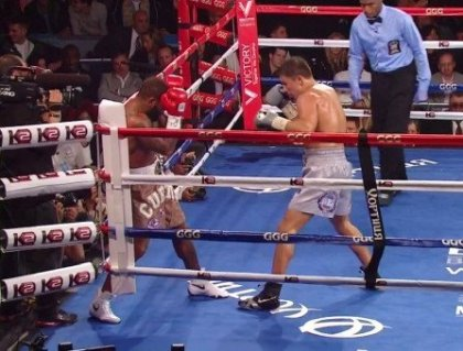 Golovkin Punishes Stevens and Then Stops Him in the 8th Round