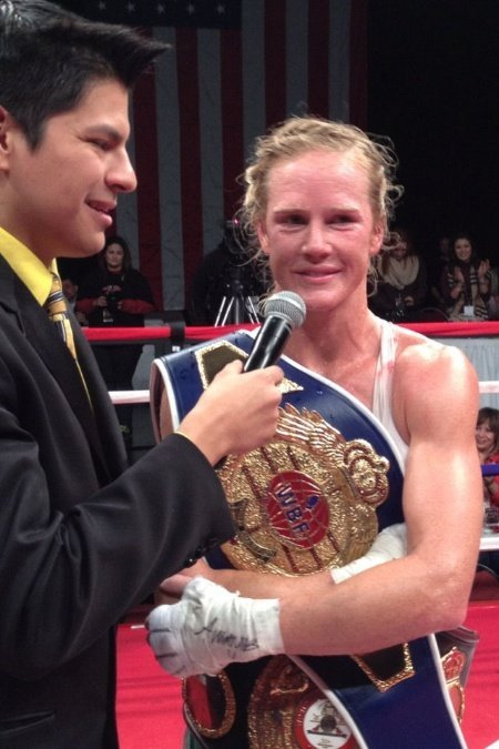 hollyholm3 Holly Holm Wins Second WBF World Title