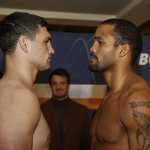Weights from Germany: Boytsov  226.6 vs  Leapai: 244.7 lbs, Hernandez 198.6 lbs vs Alekseev 198.9 lbs