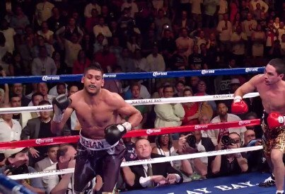 khan468 Amir Khan at the end of the line in 140 lb. tourney