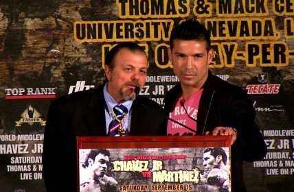 Prediction: Sergio Martinez to beat Chavez Jr. by KO