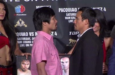 Pacquiao vs. Márquez 4 Sells 13,000 Tix in Opening Weekend!