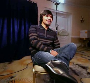 Manny Pacquiao interview