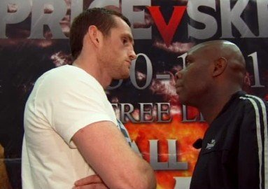 David Price vs. Matt Skelton tonight in Liverpool