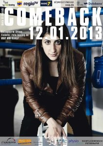 rola el halabi poster 211x300 Rola El Halabi returns to the ring after shooting incident