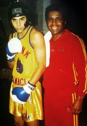taricksalmaci with emanuelsteward The Legacy of Emanuel Steward Part 6: Perspective from Tarick Salmaci
