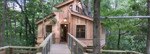 Essay: For-Mar treehouse a childhood fantasy brought to life–by TV masters