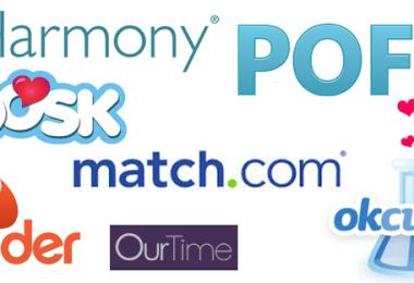 Dating site logos