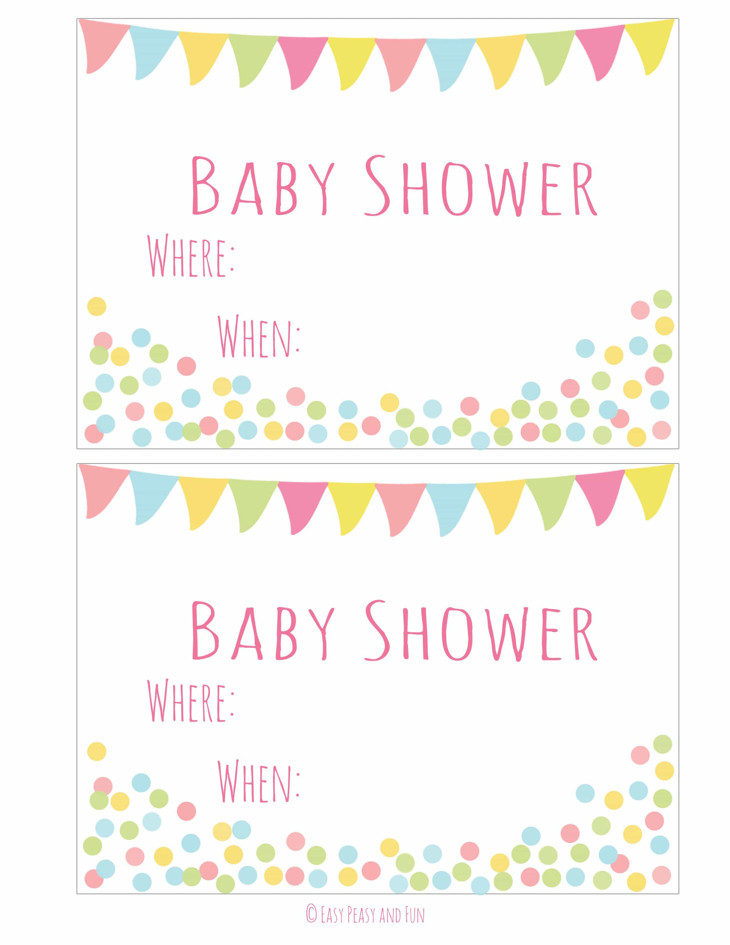 Fullsize Of Baby Shower Invitations