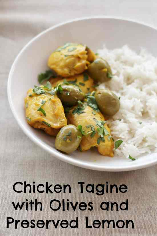 ... chicken with lemon rice green olive preserved lemon and chicken tagine