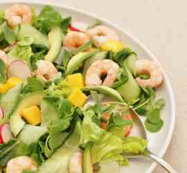 Prawn, Avocado and Mango Salad