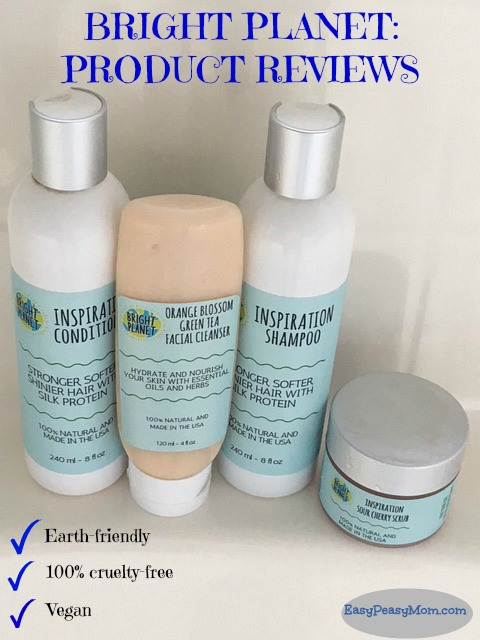 Bright Planet Hair & Skincare Product Reviews