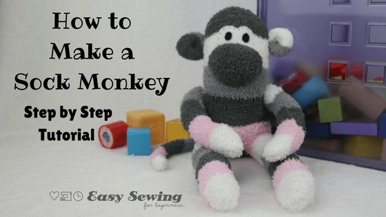 How to Make a Sock Monkey, Pattern Free!
