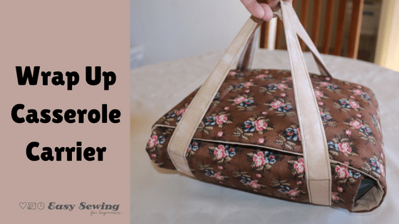 Wrap Up Casserole Cover