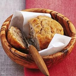 Easy Parmesan Breakfast Muffin