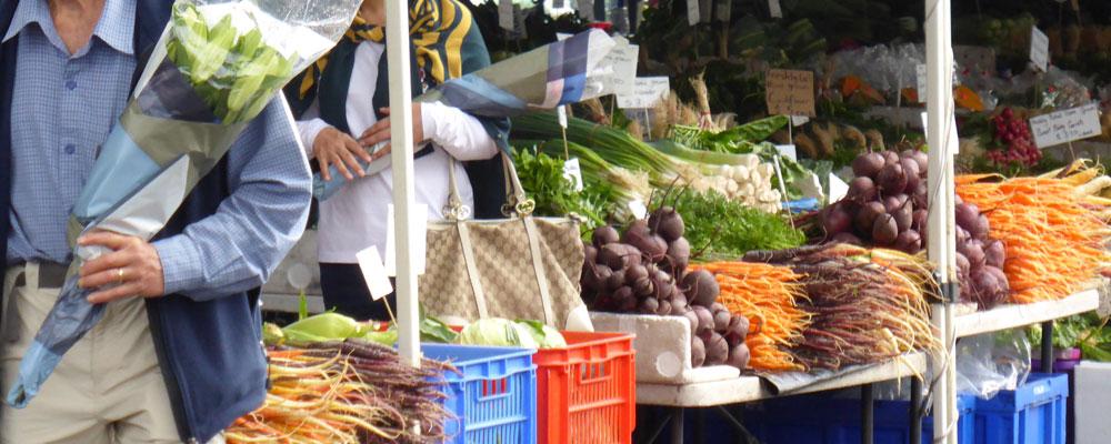 Fresh Produce at the Salamanca Market