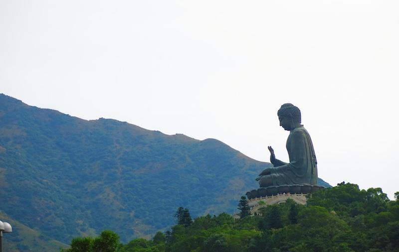 Big Buddha Side View