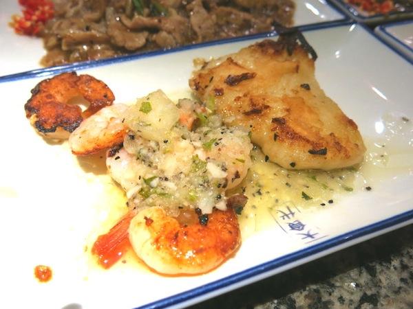 Heniu Teppankayi Grilled Fish and Prawn at Wisma Atria Food Republic