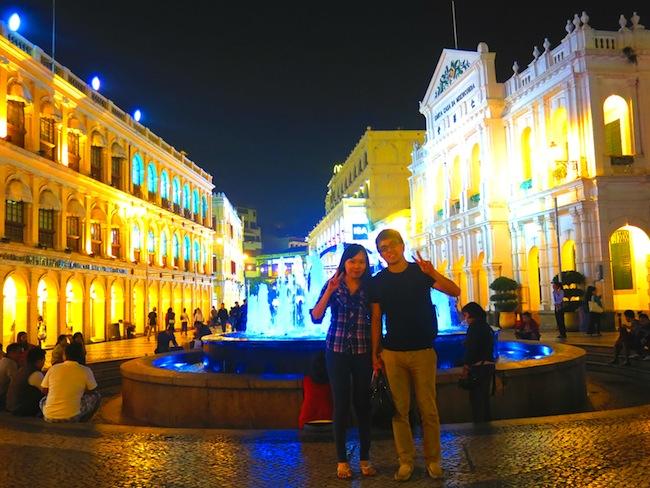 Senado Square Water Fountain, Macau