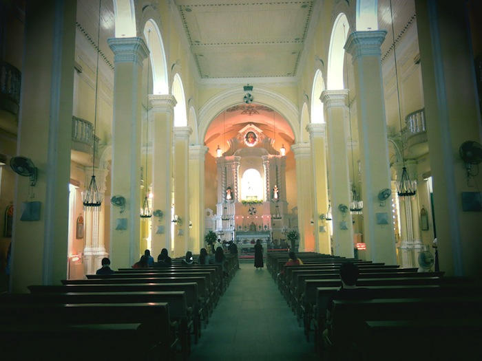 St Dominic's Church Macau Interior