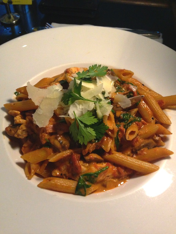 Chicken Rossa Penne at PS. Cafe Dempsey