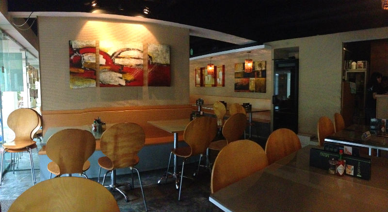 Charming Rustic Ambience of Aglio Olio China Square Central (Singapore)