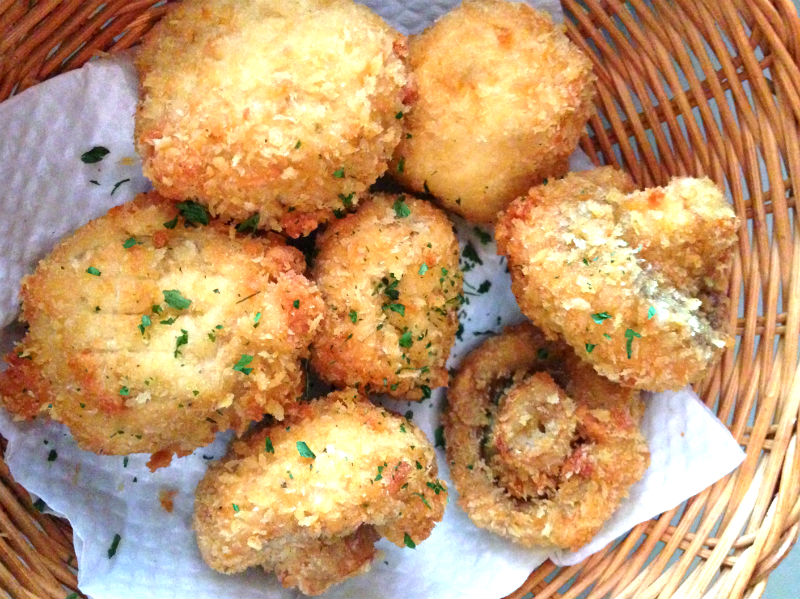 Aglio Olio Mushroom Nuggets at China Square Central (Singapore)