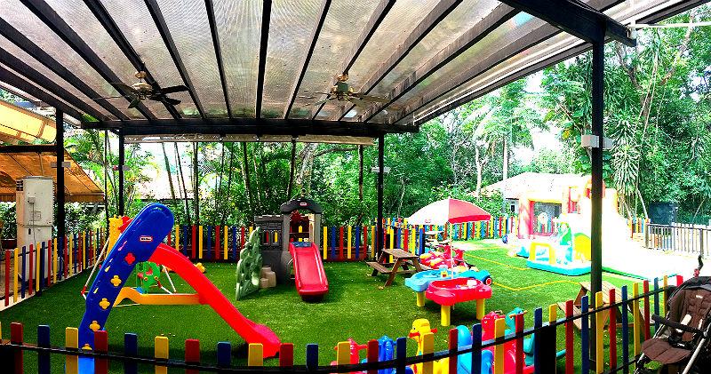 Seb's Bistro Outdoor Playground