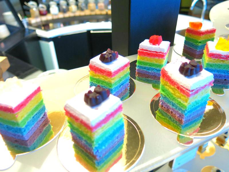 Seasonal Tastes Westin Rainbow Cakes