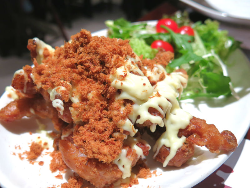 Simply Thai Soft Shell Crab with Pork Floss