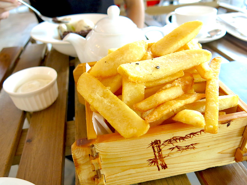 A for Arbite Truffle Fries
