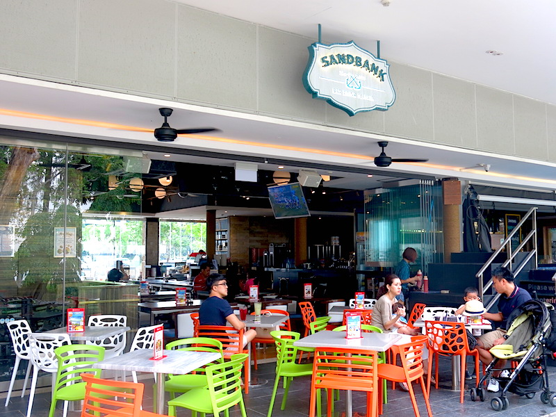 The Sandbank Singapore outdoor