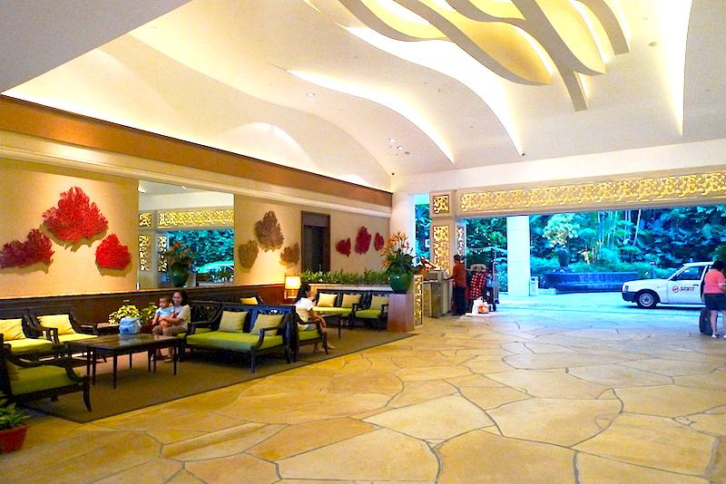 Shangri-La's Rasa Sentosa Resort & Spa, Singapore - Lobby