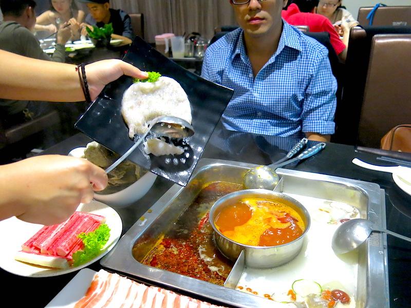 Shang Pin Hot Pot - Shrimp Paste