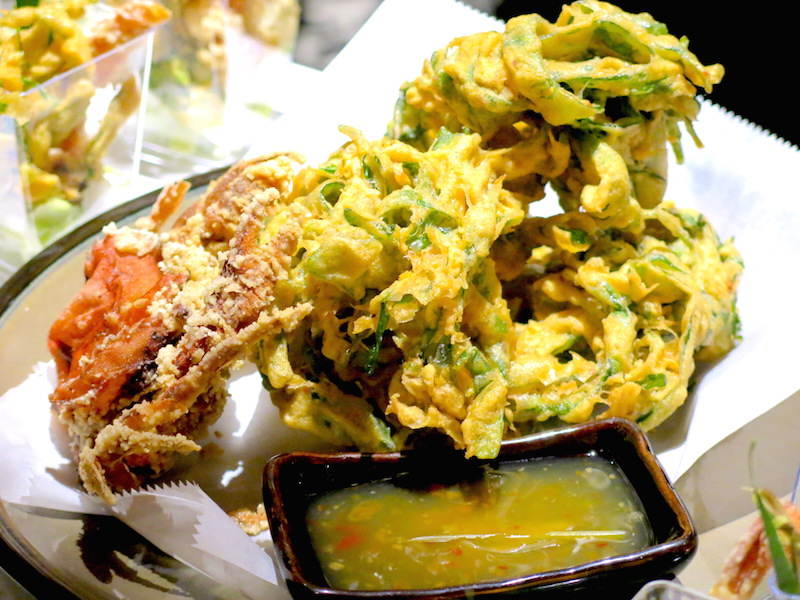 Kaffir & Lime Singapore - Crispy Soft Shell Crab